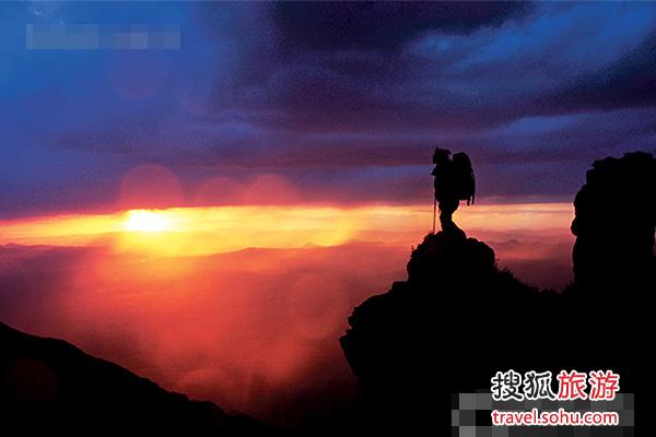 京郊经典穿越线路:云蒙峡至云蒙山