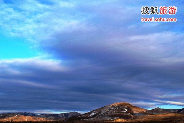 张北草原的天空