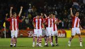 图文:巴拉圭队晋级八强 众将庆祝胜利