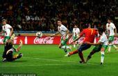 幻灯:1/8决赛西班牙VS葡萄牙 比利亚单刀破门