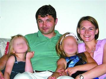 墨菲夫妇和他们的两个女儿