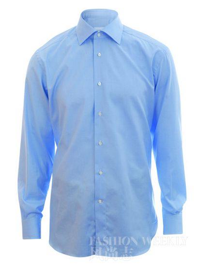 浅蓝色衬衫 z   zegna