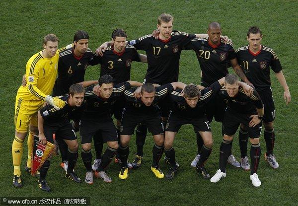 德国队合影图片