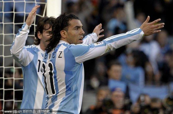 阿根廷进球被吹