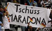 幻灯:德国4-0胜阿根廷 球迷狂欢与老马说再见