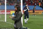 幻灯:1/4决赛巴拉圭-西班牙 卡西女友再次现身
