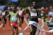 图文:钻石联赛尤金站图集 肯尼亚中长跑选手
