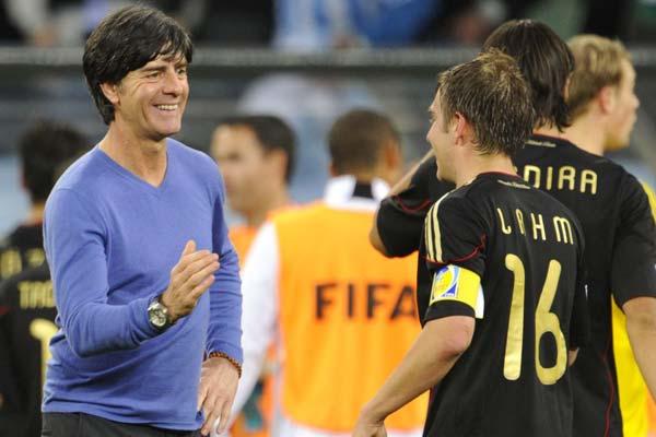 图文:德国取胜有玄机 好样的!