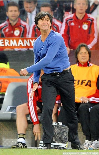 图文:德国取胜有玄机 激情勒夫