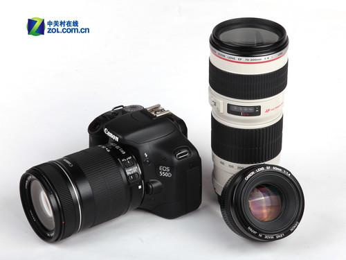 原厂18-200mm防抖镜头 佳能550D套机降价