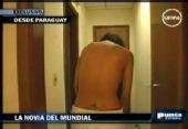 乳神承诺为巴拉圭拍裸照 脱衣视频网上疯传(图)