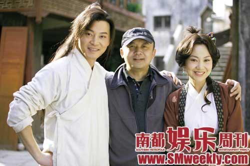 尚敬在执导《武林外传》时给演员说戏