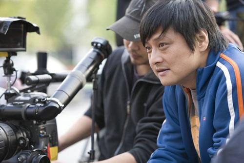 《无人驾驶》导演张杨工作照