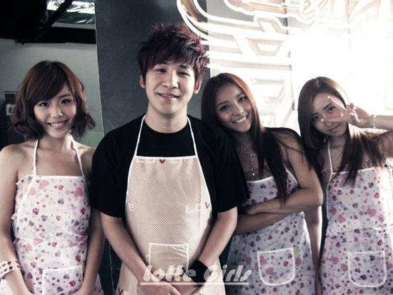 Lotte-Girls与大张伟共同度过一周年