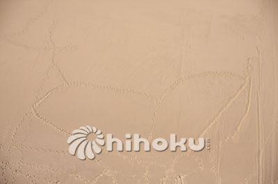 沙漠突然出现心形图案,难怪黄晓明被嘲笑去到敦煌也要传情。