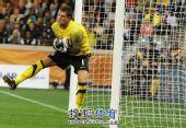 图文:荷兰队胜乌拉圭进决赛 荷兰队守门员