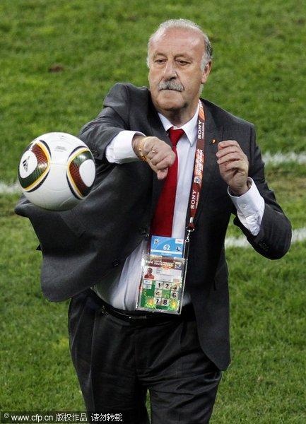 西班牙主帅拳击足球