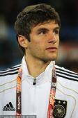 幻灯:半决赛德国VS西班牙 穆勒遭禁赛场边观战