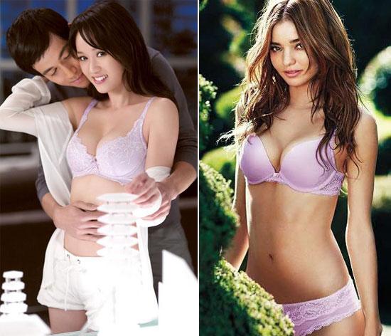 组图:内衣写真中国妞叫板欧美超模