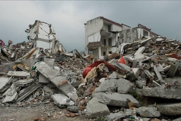 5.12汶川地震后的竹园