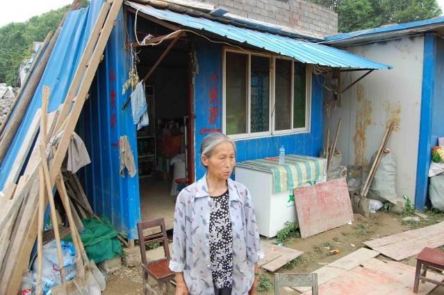 竹园镇部分村民的居住现状
