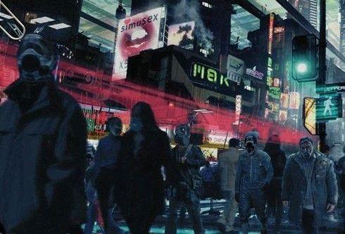 早前曝光的《阿凡达》中地球的原画设定图