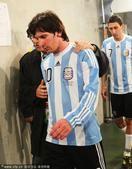 高清图:南非世界杯十大难忘瞬间 难忘梅西眼泪