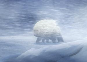 极寒星球上的长毛兽