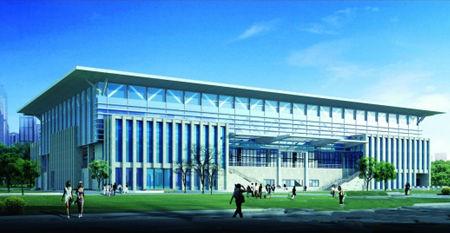 广州体育学院体育馆效果图