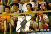 图文:乒超女团辽宁3-1胜北京 球迷为郭跃庆生