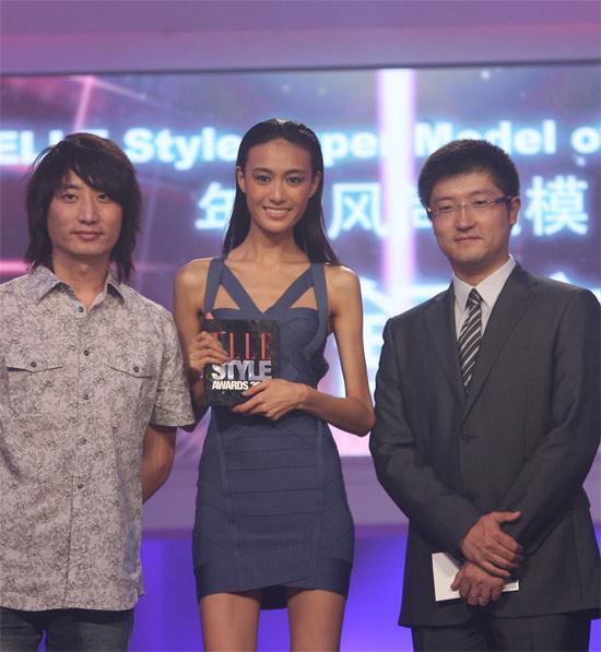 2010ELLE 秦舒培获年度风尚超模