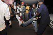 高清图:坎帕拉球迷遭遇惨案 看世界杯被炸身亡