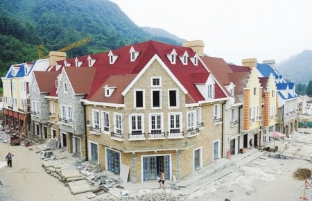 白鹿镇的法式建筑