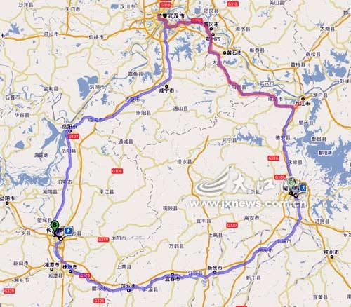 城际铁路将延伸至江西九江,连成武九客运专线,目前,该项目已完成规划