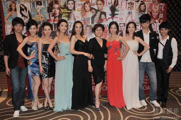 新版《红楼梦》剧组上海出席时尚活动