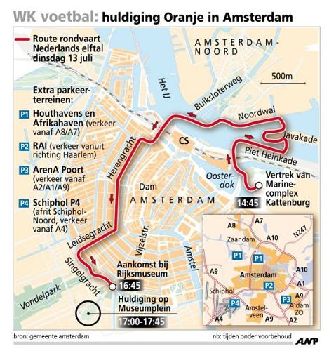 02-荷兰巡游路线图
