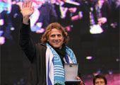 高清图:乌拉圭举行庆祝游行 弗兰接受国家奖章