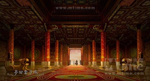 宫殿层层错叠图片