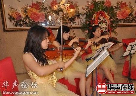 女子乐队合奏