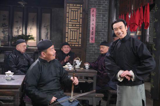 图:电视剧《茶馆》精彩剧照(10)