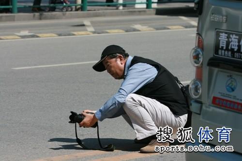 专业的摄影师