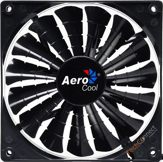 15片鲨鱼鳍 Aerocool推新酷炫机箱风扇