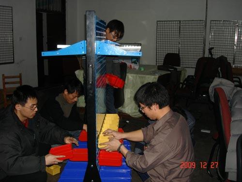组装工具车