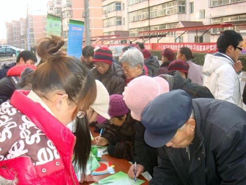 老年人也积极参加我们的活动