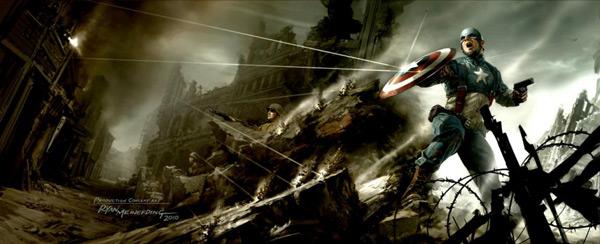 《美国上尉》的概念图