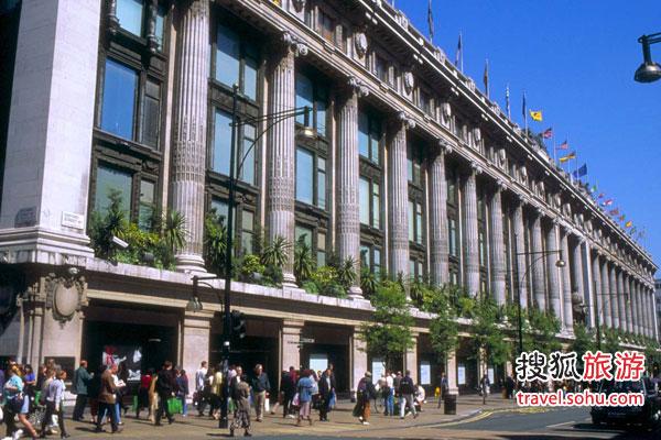 伦敦最热门购物区:服装电器书籍全囊括