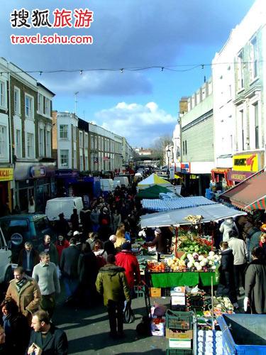 伦敦五大别具风情跳蚤市场