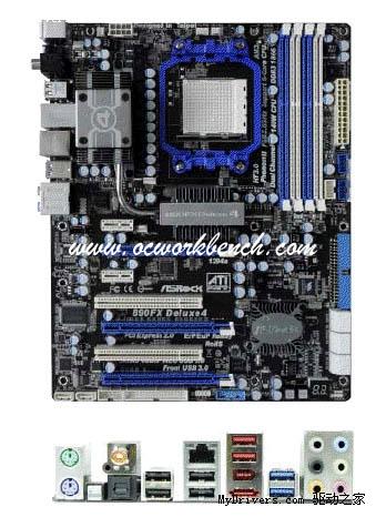两前两后:华擎首推四口USB 3.0 AMD主板