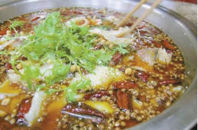 一些小餐馆的冷锅鱼最近在涨价