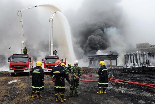 两部门通报 7 16 大连输油管道爆炸火灾事故